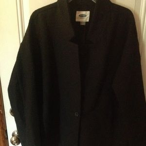 Old Navy black size M  jacket NWT